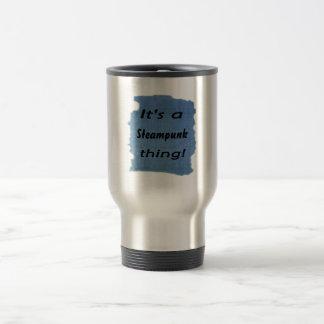 It's a steampunk thing! mugs