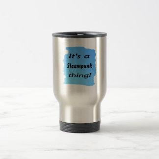 It's a steampunk thing! coffee mugs