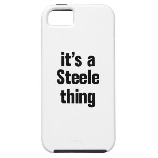 its a steele thing tough iPhone 5 case