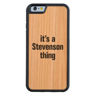 its a stevenson thing cherry iPhone 6 bumper