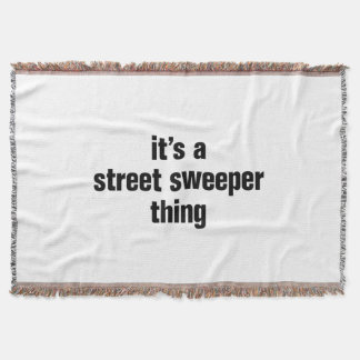 its a street sweeper thing