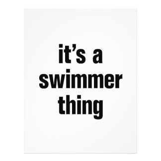 its a swimmer thing 21.5 cm x 28 cm flyer