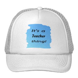 It's a teacher thing! mesh hats