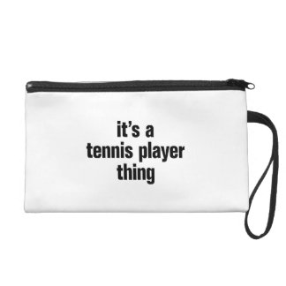 its a tennis player thing wristlet