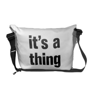its a thing courier bags