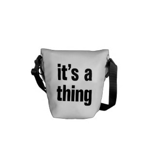 its a thing messenger bag