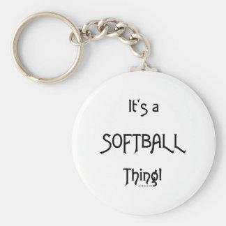 It's A Thing...Softball Key Ring