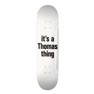 it's a thomas thing skateboard deck