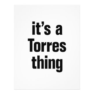 """its a torres thing 8.5"""" x 11"""" flyer"""