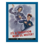 It's a Tradition with Us, Mister! Poster