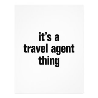 """its a travel agent thing 8.5"""" x 11"""" flyer"""