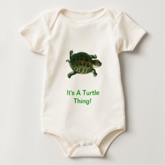 It's A Turtle Thing Baby Bodysuit