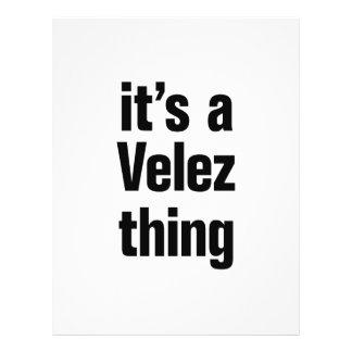 "its a velez thing 8.5"" x 11"" flyer"