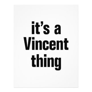 """its a vincent thing 8.5"""" x 11"""" flyer"""