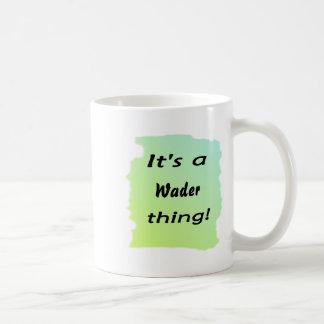 It's a wader thing! mugs
