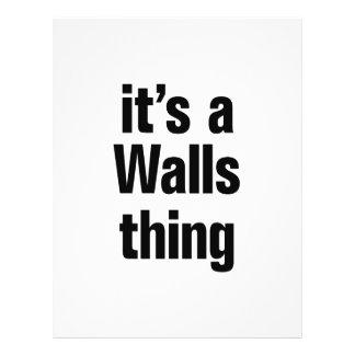 its a walls thing 21.5 cm x 28 cm flyer