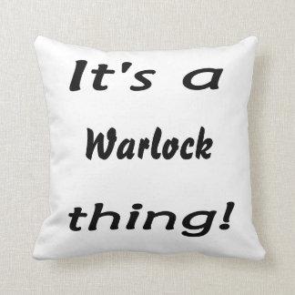 It's a warlock thing! throw cushions