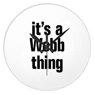 its a webb thing clocks