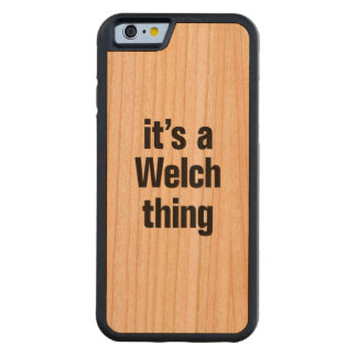 its a welch thing cherry iPhone 6 bumper case