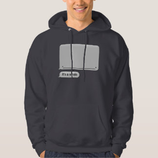 It's a Whale hoodie