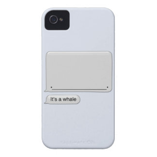 It's a Whale iPhone 4 Case-Mate Cases