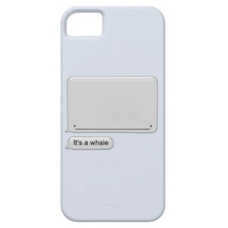 It's a Whale iPhone 5 Cases