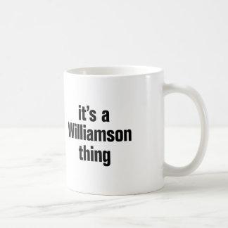 its a williamson thing basic white mug