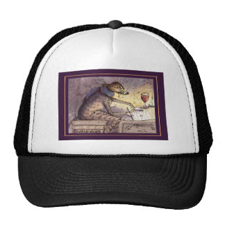 It's a writer's life - greyhound cap