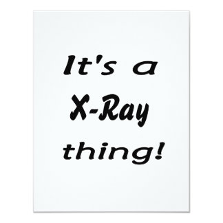 It's a X-Ray thing! Custom Announcement