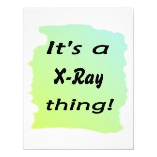 It's a X-Ray thing! Custom Invitations