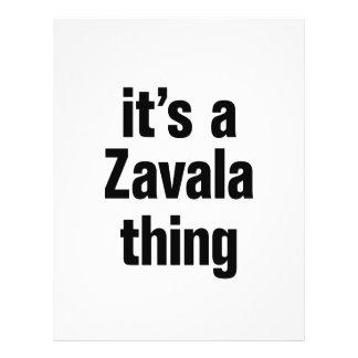 "its a zavala thing 8.5"" x 11"" flyer"
