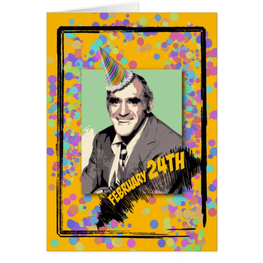 It's Abe Vigoda's Birthday! Card