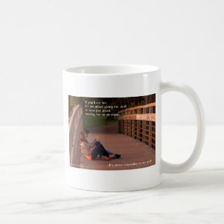 It's about Responding to her Soul Basic White Mug