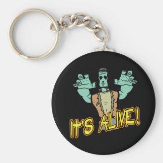 It's Alive Frankenstein Keychain