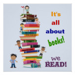 It's All About Books Poster