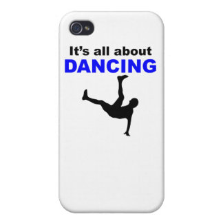 It's All About Dancing iPhone 4 Cover