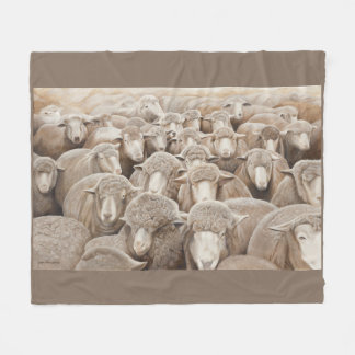 """It's All About Ewe"" Fleece Blanket"