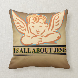 ITS ALL ABOUT JESUS CUSHION