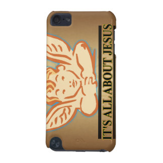 ITS ALL ABOUT JESUS iPod TOUCH (5TH GENERATION) CASES