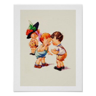 It's all about Love Valentine's Day Gift Art Print