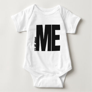 it's all about me baby bodysuit