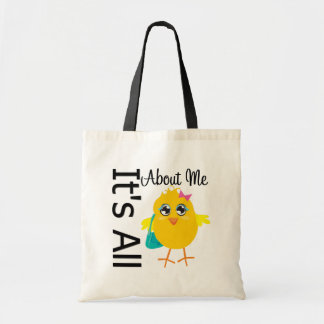 Its All About Me Chick Budget Tote Bag