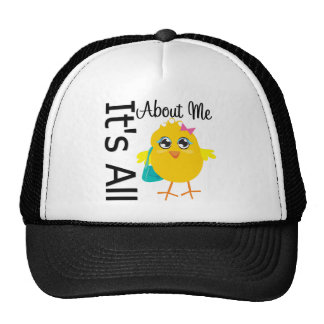 Its All About Me Chick Mesh Hats