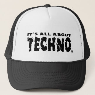 It's All About Techno - Hat