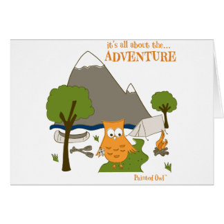 It's All About the Adventure Card