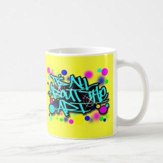 ITS ALL ABOUT THE ART3 babyblue.svg Basic White Mug