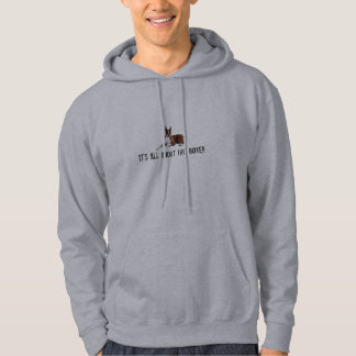 It's All About the Boxer Hoodie