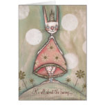 It's All About the Bunny Stationery Note Card