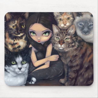 """""""It's All About the Cats"""" Mousepad"""