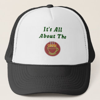 It's all about the coffee Waitress hat